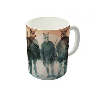Dreambolic Fox Hunt Coffee Mug-DBCM21405
