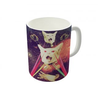 Dreambolic Galactic Cats Saga Coffee Mug-DBCM21441