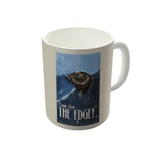 Dreambolic Grim Fandango Vintage Travel Poster The Edge Coffee Mug-DBCM21504