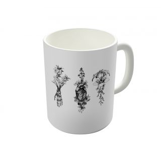 Dreambolic In Bloom Herbarium Coffee Mug-DBCM21618