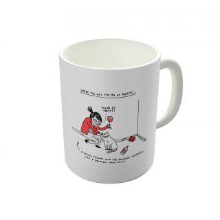 Dreambolic Me At Parties Coffee Mug-DBCM21842