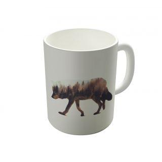 Dreambolic Norwegian Woods The Wolf Coffee Mug-DBCM21980
