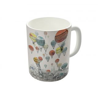 Dreambolic Voyages Over Edinburgh Coffee Mug-DBCM22690