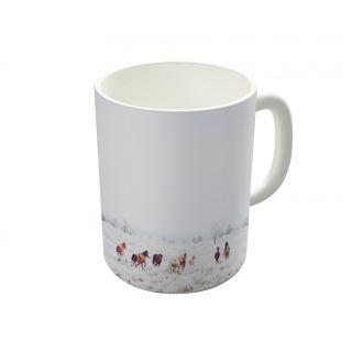 Dreambolic Winter Horses Coffee Mug-DBCM22752