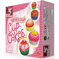 Toy Kraft- Mould & Paint- Cup Cakes