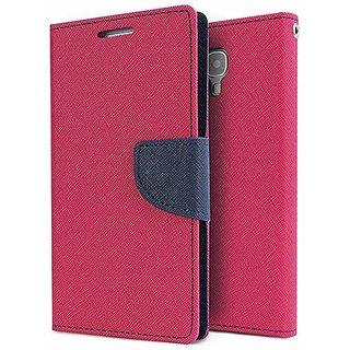 Wallet Flip Case Back Cover For Samsung Galaxy J7  -Pink