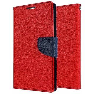 Wallet Flip Case Back Cover For LG G5  - Red