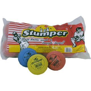 Stumper Cricket Balls (10 pieces balls)