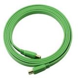 HDMI To HDMI High Speed 1.4v Flat Green Colour Cable Type A/A 3M