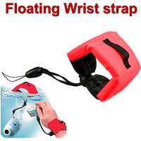Gadget Hero's Red Floating Foam Strap for Canon Nikon Sony Samsung Digital Camera.