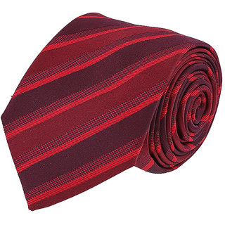 Louis Philippe Chic Red Tie