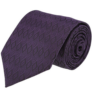 Louis Philippe Stylish Purple Tie