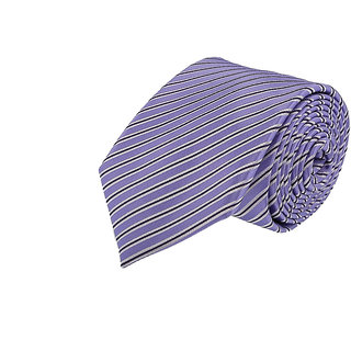 Louis Philippe In Style Purple Tie