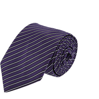 Louis Philippe Chic Purple Tie