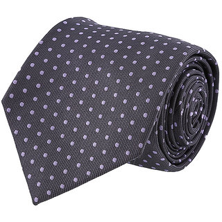 Louis Philippe Chic Grey Tie