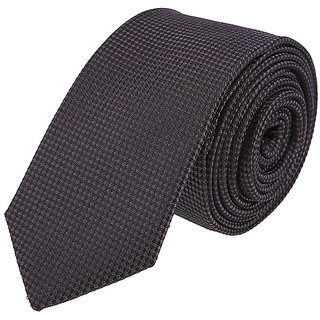 Louis Philippe Trendy Black Tie