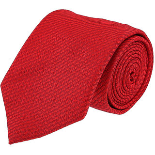 Louis Philippe In Vogue Red Tie
