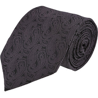 Louis Philippe Stylish Grey Tie