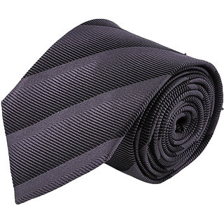 Louis Philippe Black & Grey Tie
