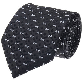Tossido Exclusive Black Single Tie With A Tin Box