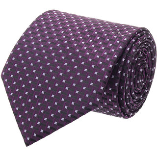 Tossido Modish Purple Single Tie With A Tin Box