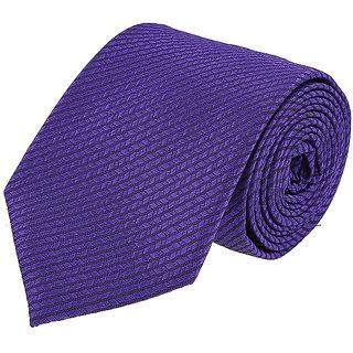 Louis Philippe Modern Purple Tie