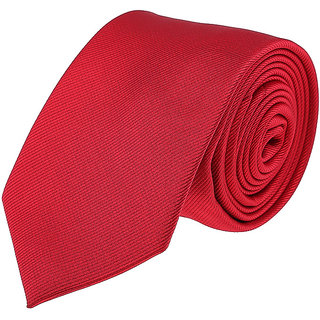 Louis Philippe Classy Red Tie