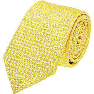 Tossido Yelow Slim Neck-Tie