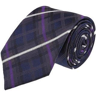 Van Heusen Blue & Purple Tie