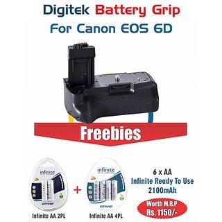 Digitek Battery Grip CANON EOS 6D