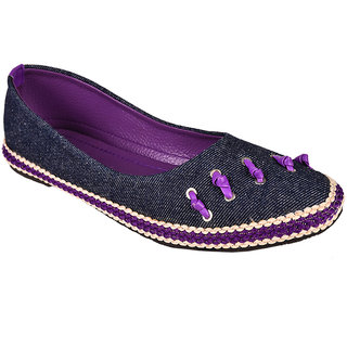Trilokani Women Purple Bellies