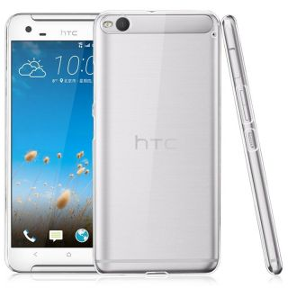 HTC ONE X9 TRANSPARENT SOFT SILICONE BACK JELLY COVER