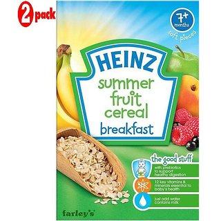 Heinz Summer Fruit Multigrain (7m+) - 120G (Pack of 2)