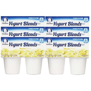 Gerber Yogurt Blends Snack 396G (14oz) - Banana (Pack of 6)