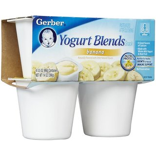 Gerber Yogurt Blends Snack 396G (14oz) - Banana