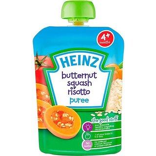 Heinz Butternut Squash Risotto Puree (4m+) - 100G