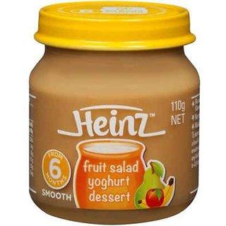 Heinz Fruit Salad Yoghurt Dessert (6m+) - 110G