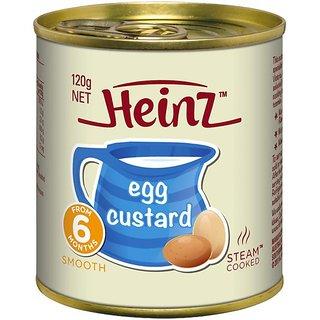 Heinz Egg Custard (6m+) - 120G