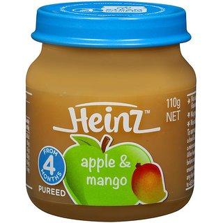 Heinz Apple & Mango (4m+) - 110G