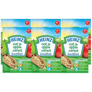 Heinz Oat & Apple Porridge (4m+) - 125G (Pack of 6)