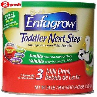 Enfagrow Toddler Next Step 3 Vanilla (1-3Yrs) - 680G (Pack of 2)