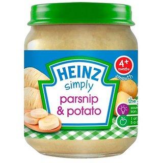 Heinz Simply Parsnip & Potato (4m+) - 120G