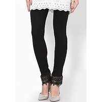 Sukuma Fashionable Lace Legging Plazzo