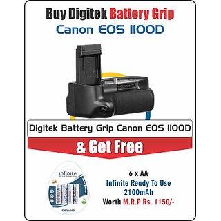 Digitek Battery Grip Canon 1100D