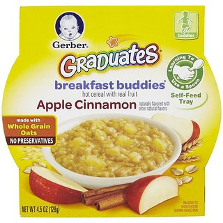Gerber Graduates Breakfast Buddies 128G (4.5oz) - Apple Cinnamon