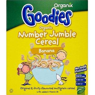 Organix Goodies Organic Number Jumble Cereal Banana - 110G