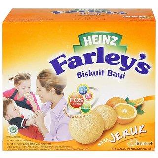 Heinz Farleys Rusks 120G (6-24m) - Orange