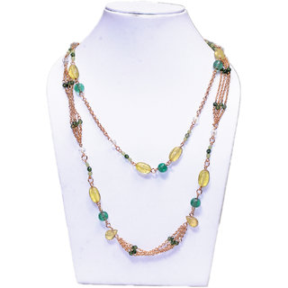 Original Stone Gold Plated Necklace For Women