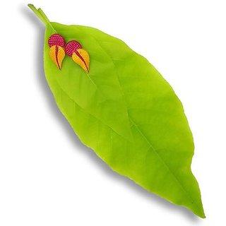 Terracotta-leaf shaped simple wear stud