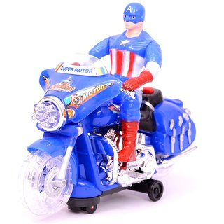 Battery Operated Captain America Bike